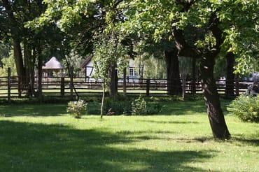 Garten mit Blick zum Nachbarn - Museumsdorf