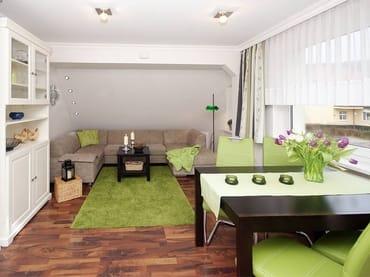 helles und gemütliches Wohnzimmer