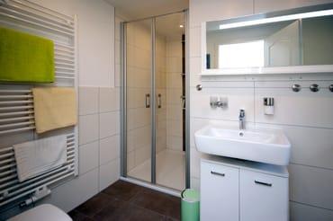 Tageslichtbad mit Dusche/WC/Fön