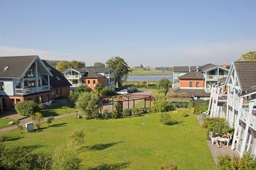 Ferienpark Seedorf, Blick von unserem Balkon