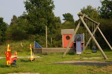 Kinderspielplatz auf dem Grundstück für die Feriengäste