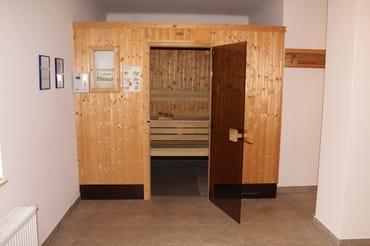 Die Sauna für unsere Gäste