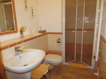 Duschbad mit bodengleicher Dusche