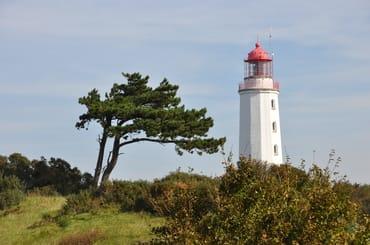 Leuchtturm mit Windflüchter