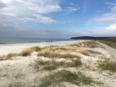 Strand Insel Hiddensee