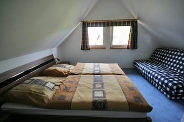 obere Etage, Schlafbereich
