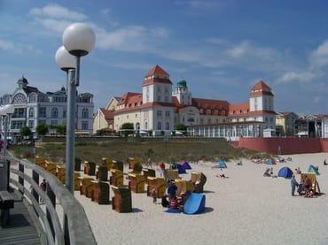Strandleben in Binz