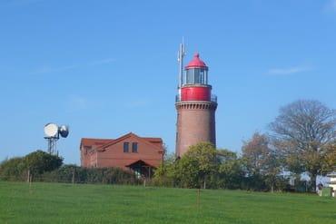 Leuchtturm Bastdorf (Ziel für Fahrradtour)