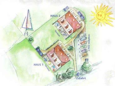 Ferienhaus Residenz zu den 3 Tannen Zingst - Lageplan