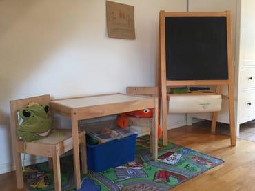 Ferienhaus Residenz zu den 3 Tannen Zingst - Spielecke für die kleinen Gäste