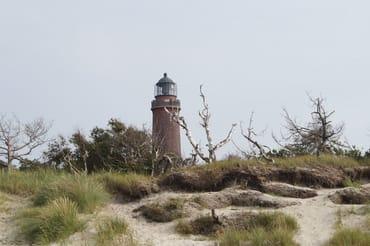 Der Leuchtturm am Darßer Ort