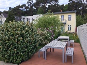 Grillplatz im Garten