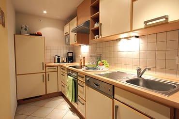 Vollausgestattete Küchenzeile