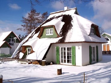 """Ferienhaus im Winter ein Genuss! """"Annehmlichkeit und Augenweide"""""""