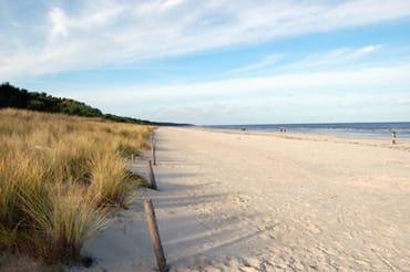 Sandstrand nur 30 Meter entfernt