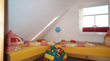 Zimmer oben, mit 2 Einzelbetten
