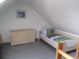 Schlafzimmer im Spitzboden 2