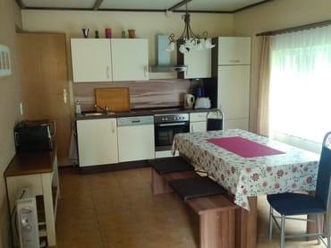 Wohnküche mit Platz