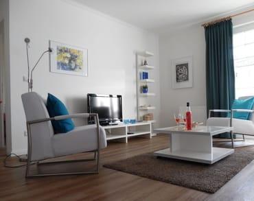 Das moderne Wohnzimmer