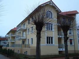 Außensicht Balkon- bzw. Terrassenseite