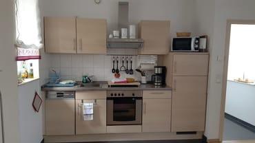 Küchen - FeWo II im Obergeschoss