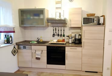 Küche - FeWo I im Erdgeschoss