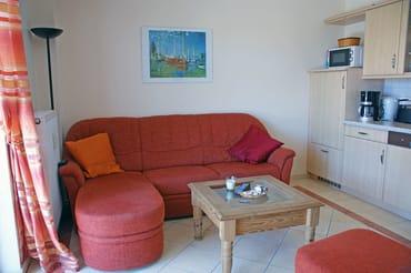 Ferienwohnung Hafenidyll Nr. 11 - Wohnzimmer