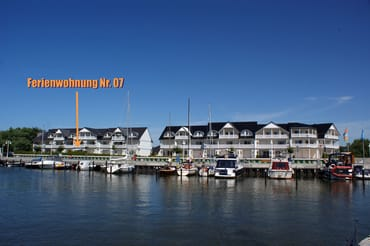 Ferienwohnung Hafenidyll Nr. 07 mit Hafenblick