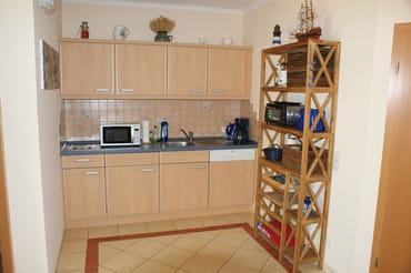 Ferienwohnung Hafenidyll Nr. 07 - voll ausgestattete Küchenzeile