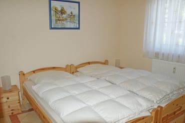 Ferienwohnung Hafenidyll Nr. 07 - Schlafzimmer