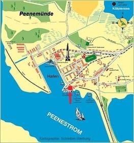 Ortsplan Peenemünde