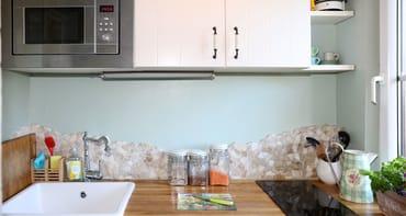 Die kleine Küche mit Geschirrspüler bietet fast allen Komfort einer großen:)
