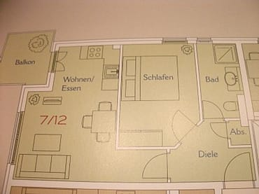Grundriss Wohnung 7 in der Villa Lena