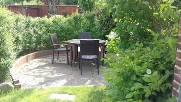 Eßplatz im Garten