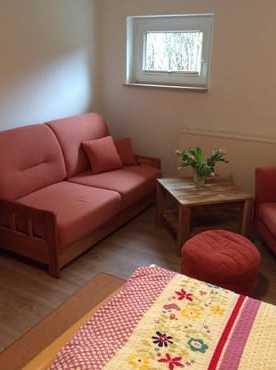 Sitzbereich im Schlafzimmer 1