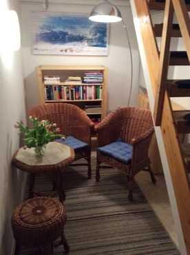 Ruhiger Platz zum Lesen