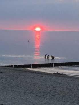Sonnenuntergang im Sommer