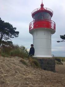 Ein Spaziergang zum kleinen Leuchtturm lohnt sich