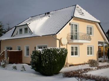 Haus C im Winter