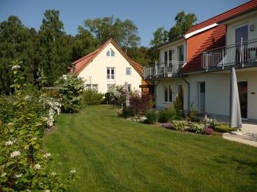 Garten der Ferienwohnungen