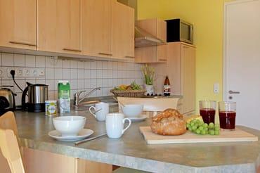 Offene Küche im Wohnzimmer