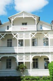 Der Balkon der Wohnung 11 befindet sich im 1. OG.