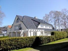 Haus Arkona Nordwest-Ansicht