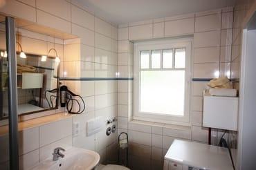 Tageslichtbad mit Dusche/WC und Waschmaschine