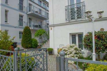 Stadt-Residenz Hauseingang