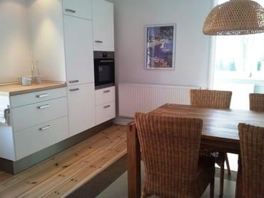 Wohnküche mit Blick