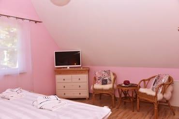 Sitzecke im Schlafzimmer