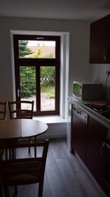Eßplatz in der Küche