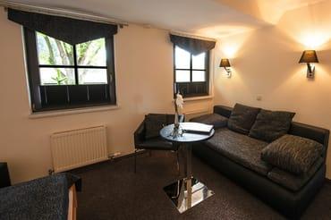 Doppelzimmer ohne Balkon, mit zusätzlicher Aufbettungsmöglichkeit (Schlafcouch)