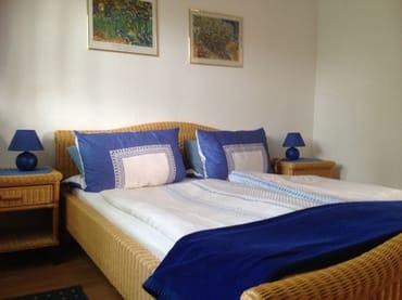 schlafen im Doppelbett